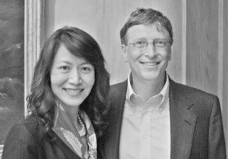 Sophie Duan, Senior Partner of PPG and Bill Gates, founder of Microsoft Corporation